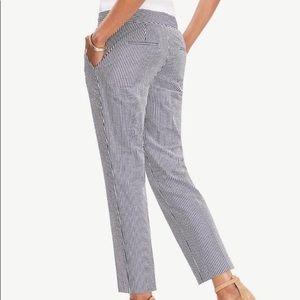 Ann Taylor Factory Seersucker Pants